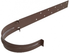 Кронштейн жёлоба Металл Элит (цвет коричневый)