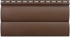 Акриловый сайдинг «Блок-хаус» Орех тёмный BH-03 - 3,10м